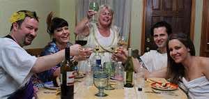 Some colorful participants of Come Dine With Me.(photo courtesy of Google.)
