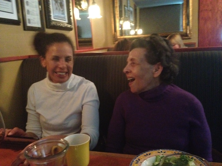 Me and Mummy. Sharing a laugh as per usual.