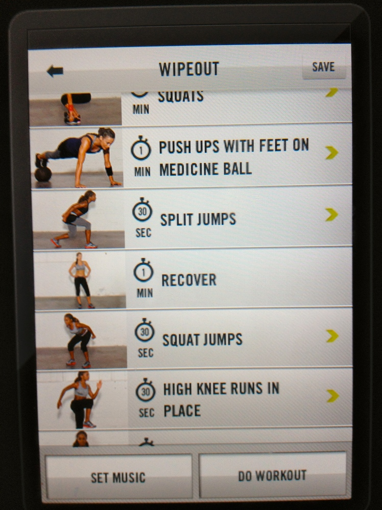 The 30 minute Shredder, found on the NTC app