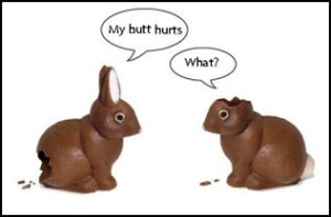 chocolate+easter+bunny+my+butt+hurts+funny+picture