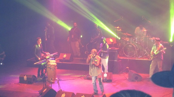 Burning Spear live at the Metropolis