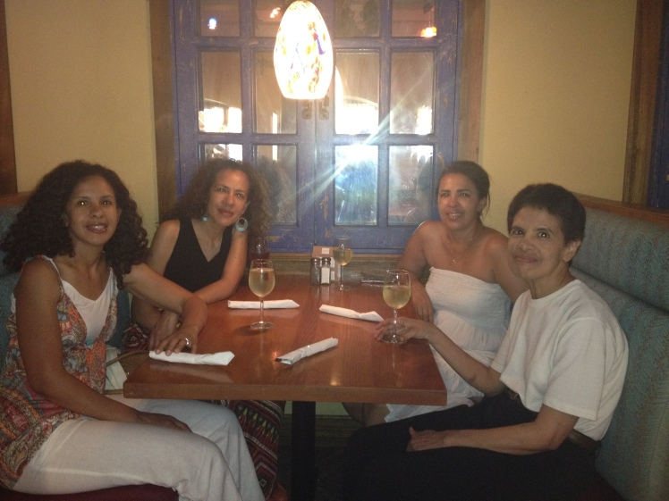 From left, me, my sister Francine, my sister Camille and my sister Karen.