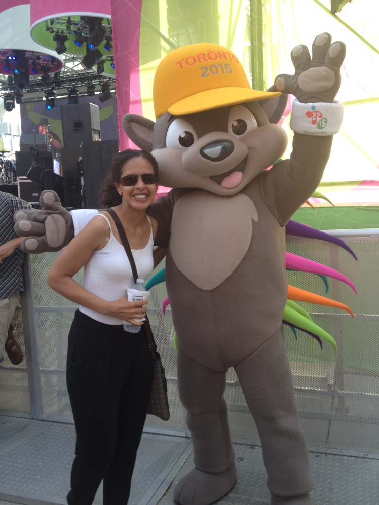 A photo with Pachi. Now life is complete!